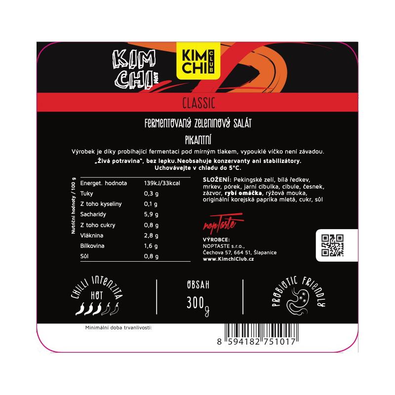 Kimchi Classic 300g.