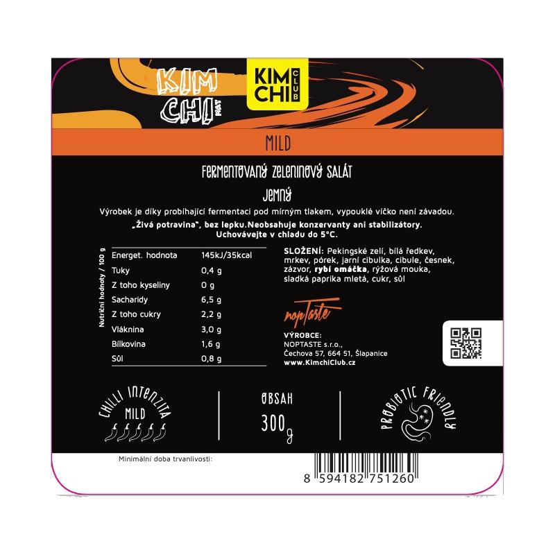 Kimchi Mild 300g.