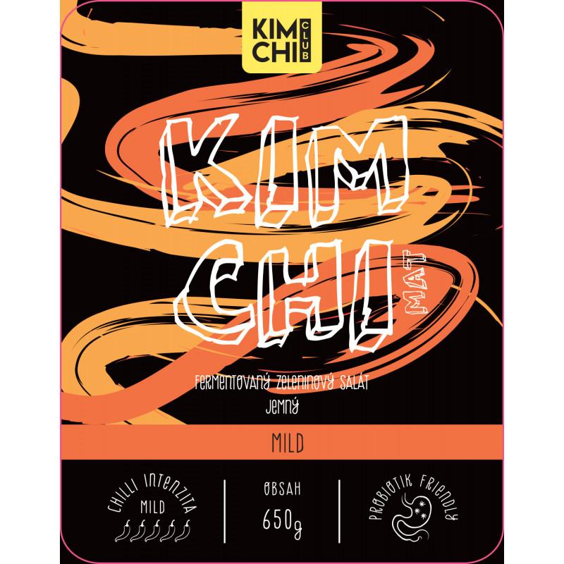 Kimchi Mild 650g.