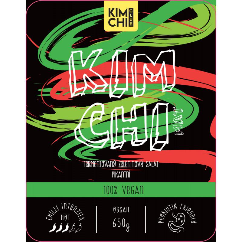 Kimchi 100% vegan 650g.